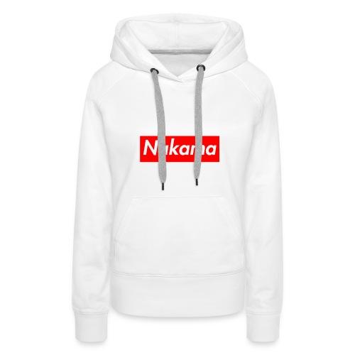 Nakama - Sweat-shirt à capuche Premium pour femmes