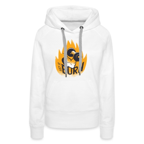 Muscles Biceps Gym Burn Fitness Calisthenics - Women's Premium Hoodie