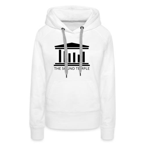 TST Full Logo Black - Women's Premium Hoodie