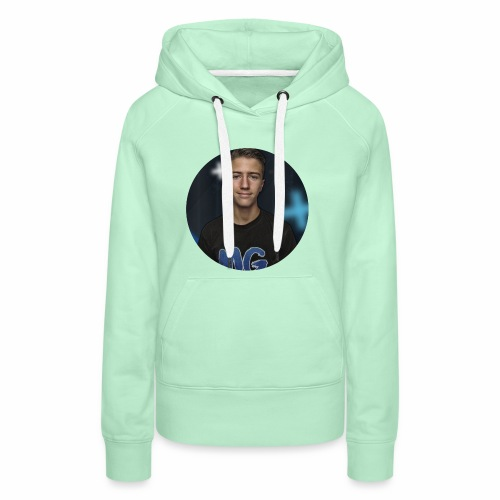 Design blala - Vrouwen Premium hoodie