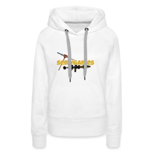 MerchLogo - Vrouwen Premium hoodie