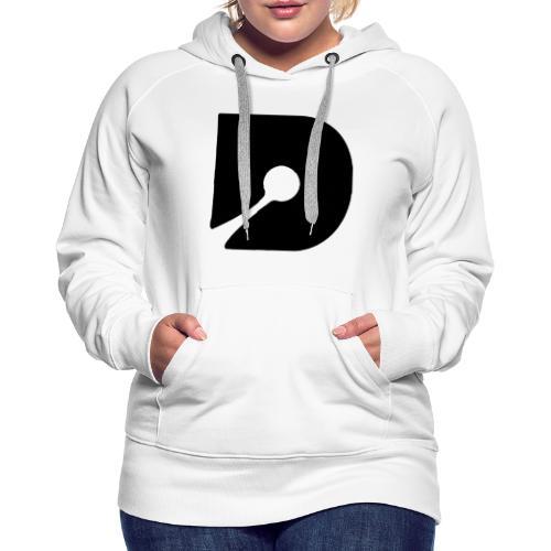 Black style V2 - Sweat-shirt à capuche Premium pour femmes