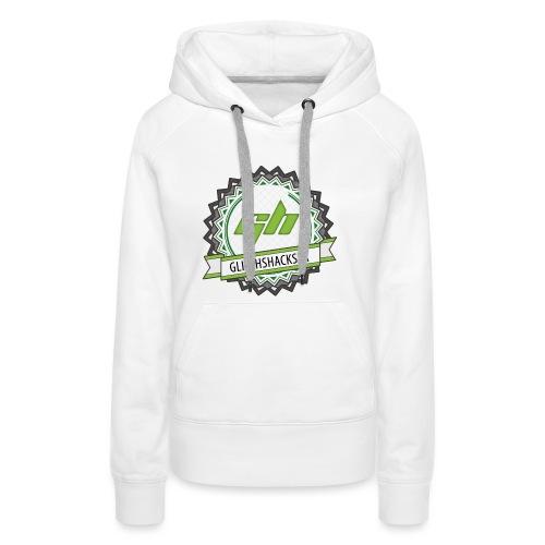 GlitchsHacksFR HD - Sweat-shirt à capuche Premium pour femmes