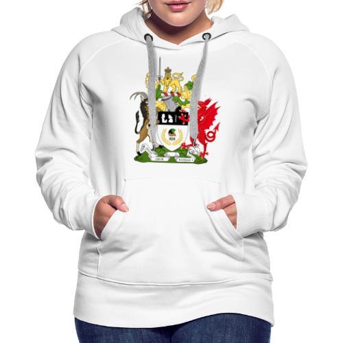 Coat of Arms of Kekistan - Vrouwen Premium hoodie