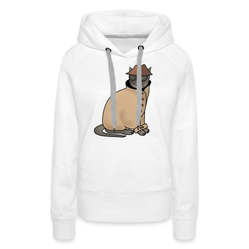 Secret cat - Women's Premium Hoodie