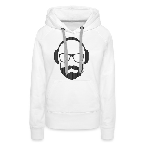 *NEW* Like a Dj (H) - Sweat-shirt à capuche Premium pour femmes