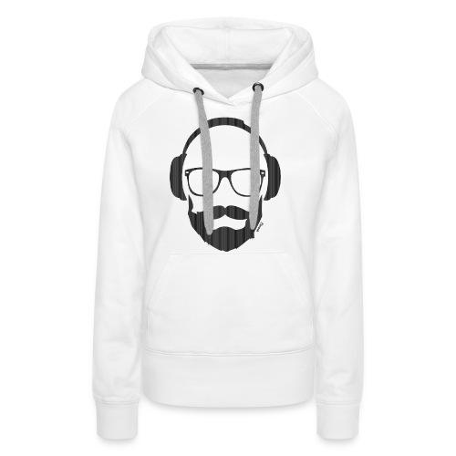 *NEW* Like a Dj (H) - Sweat-shirt à capuche Premium pour femmes