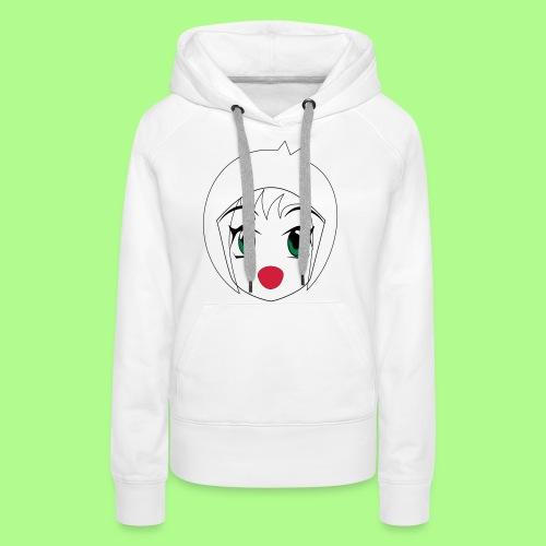 Anime girl T-Shirt - Women's Premium Hoodie