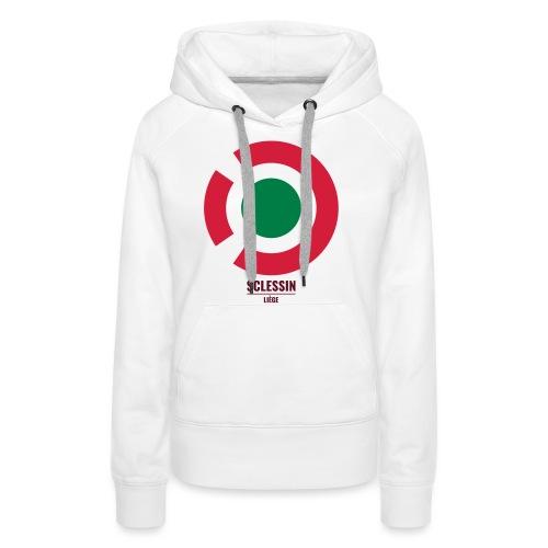 Sclessin - Sweat-shirt à capuche Premium pour femmes