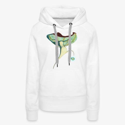 Champignon - Sweat-shirt à capuche Premium pour femmes