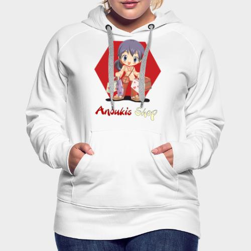 Anoukis Shop - Shopping - Sweat-shirt à capuche Premium pour femmes