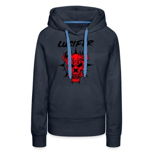 lucifer - Sweat-shirt à capuche Premium pour femmes