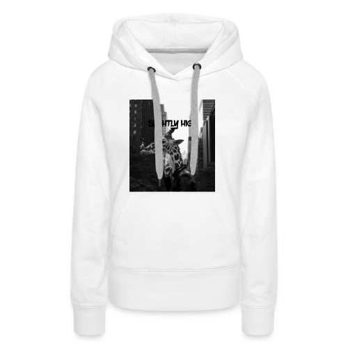 Slightly High Logo - Frauen Premium Hoodie