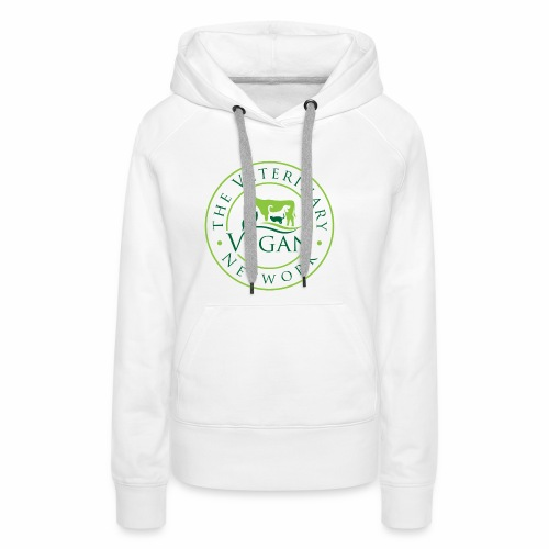 Veterinary Vegan Network Logo - Women's Premium Hoodie