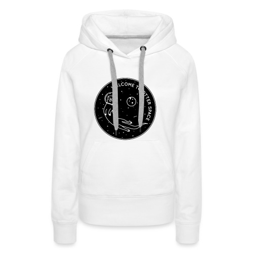 Welcome To Otter Space - Frauen Premium Hoodie