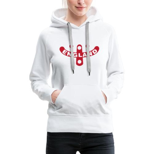 England Supporters Smile - Women's Premium Hoodie