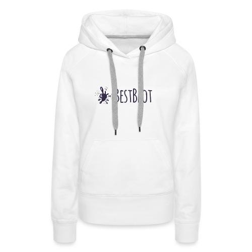 BestBlot logo (medium) - Women's Premium Hoodie