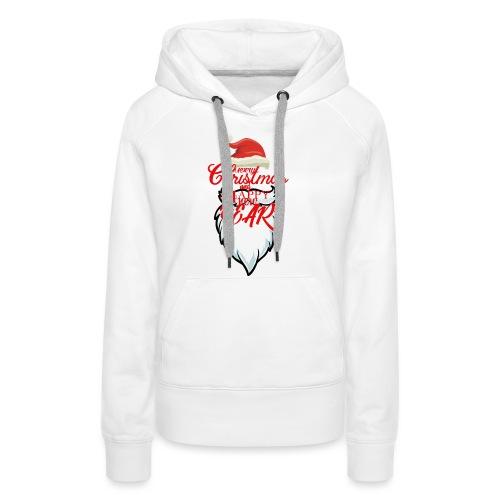 Merry Christmas Products - Sudadera con capucha premium para mujer