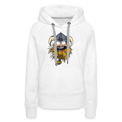Crazy Viking - Frauen Premium Hoodie