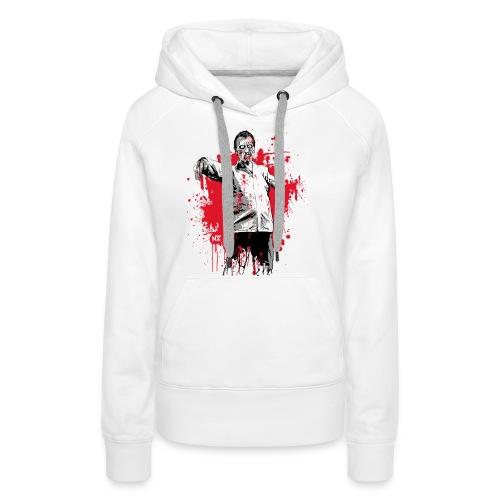zombie - Sweat-shirt à capuche Premium pour femmes