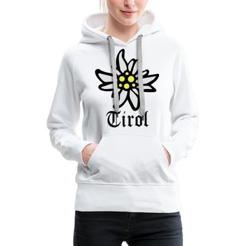 Tirol Edelweiss - Frauen Premium Hoodie