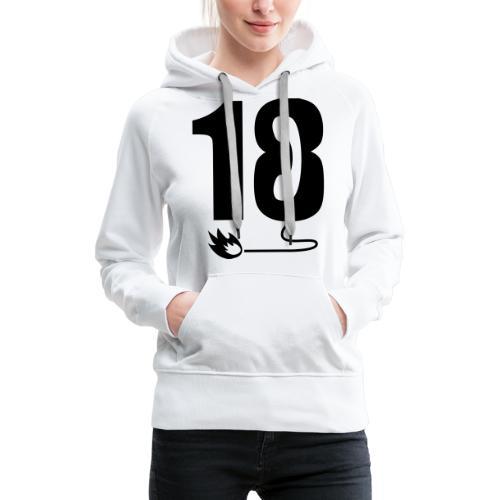 18 - Sweat-shirt à capuche Premium pour femmes