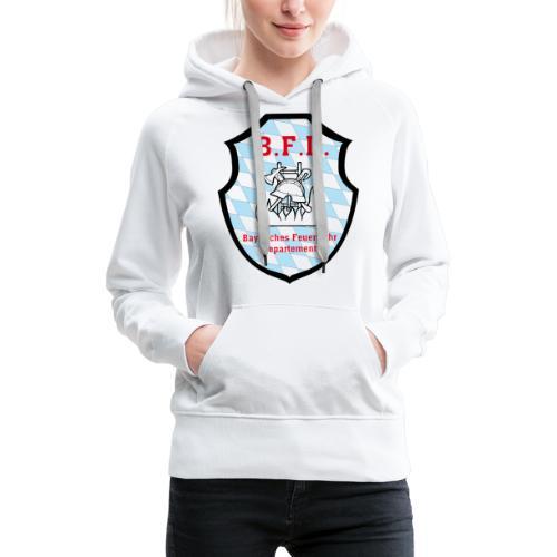 Inoffizielles bayrisches Feuerwehrabzeichen - Frauen Premium Hoodie
