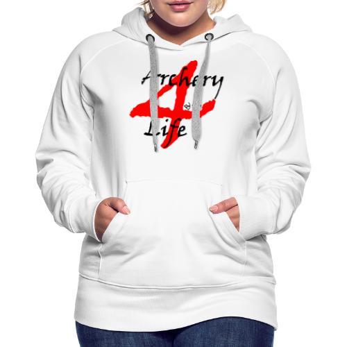 Archery4Life - Frauen Premium Hoodie