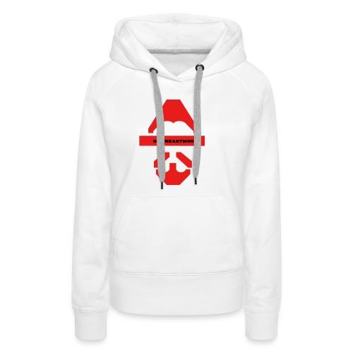 Biturzartmon Logo rot glatt - Frauen Premium Hoodie