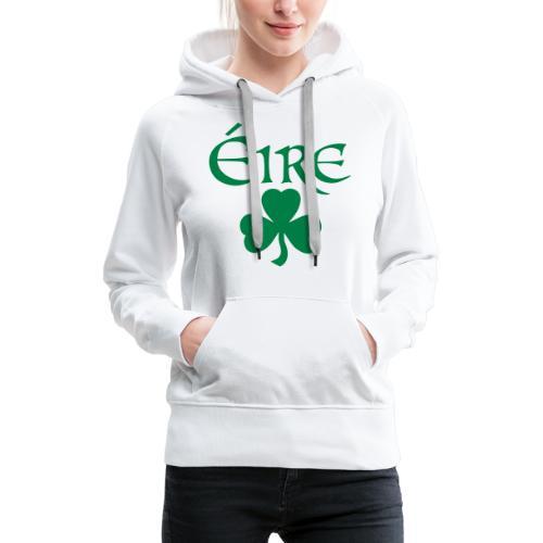 Eire Shamrock Ireland logo - Women's Premium Hoodie