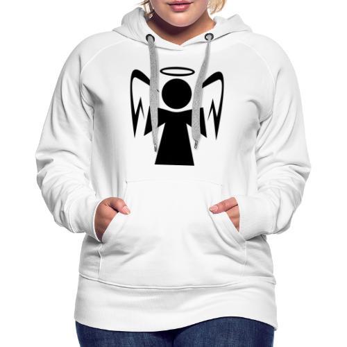 Engel mit Heiligenschein - Frauen Premium Hoodie