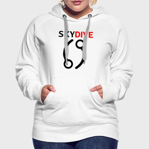 Skydive Pin 69 - Frauen Premium Hoodie