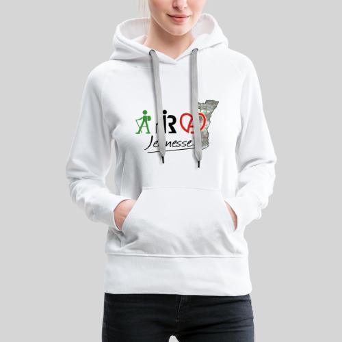 ARA Jeunesse - Sweat-shirt à capuche Premium pour femmes