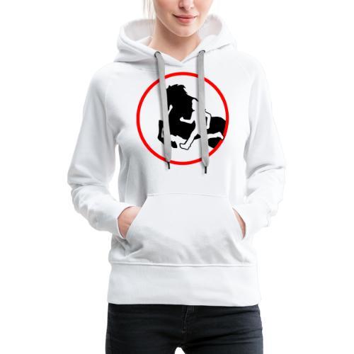 Horse Agility Logo - Frauen Premium Hoodie