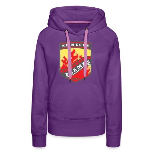 t shirt black - Vrouwen Premium hoodie