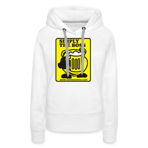 Simply the Boss - Women's Premium Hoodie