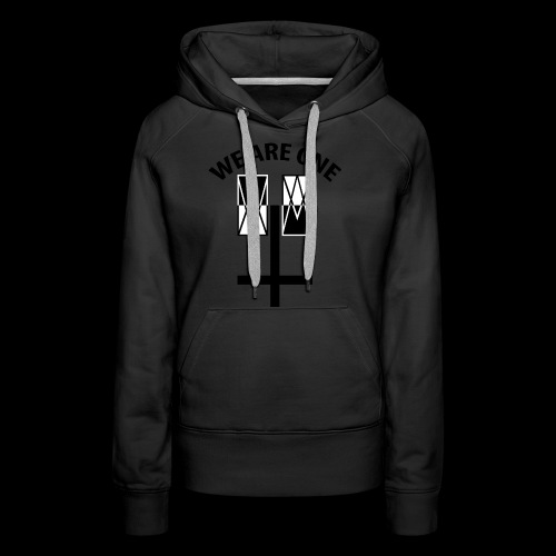 WE ARE ONE x CROSS - Vrouwen Premium hoodie
