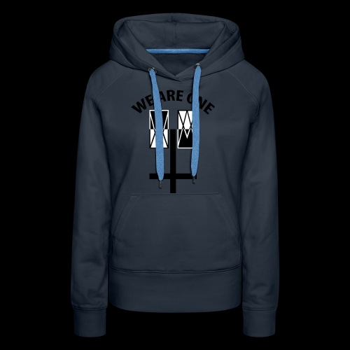 WE ARE ONE x CROSS - Vrouwen Premium hoodie