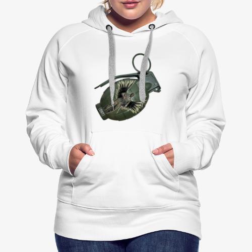 OutKasts Grenade Side - Women's Premium Hoodie