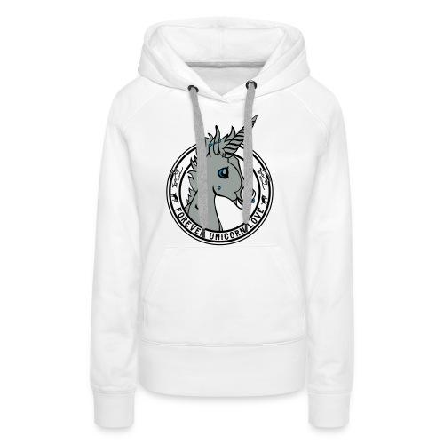 Colt - Unicorn Love (onwhite) - Frauen Premium Hoodie