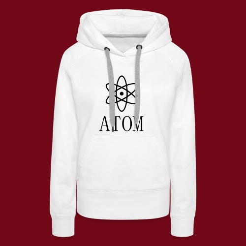 atom - Frauen Premium Hoodie