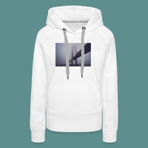 suspension bridge - Vrouwen Premium hoodie