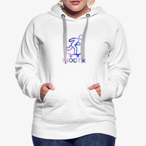 galaxy skootix - Sweat-shirt à capuche Premium pour femmes