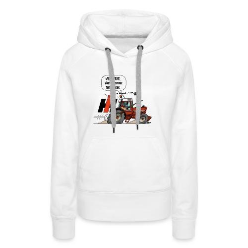 0857 wait here shotgun - Vrouwen Premium hoodie