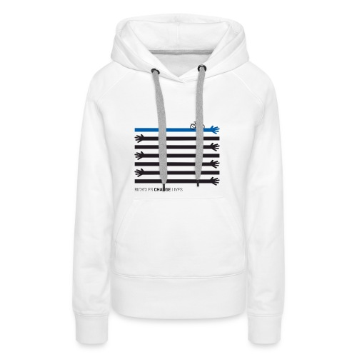 BCL Black Hands One Blue - Women's Premium Hoodie