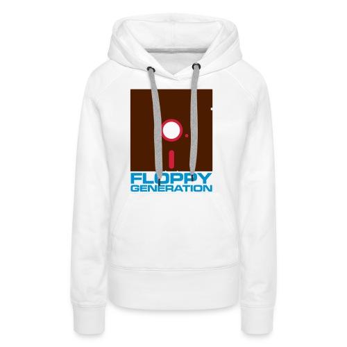 Floppy Generation 3c - Women's Premium Hoodie
