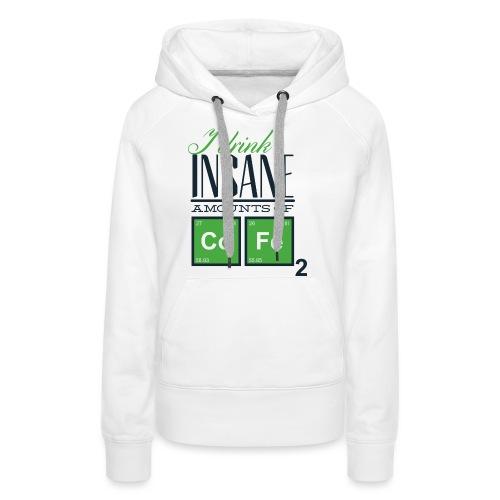 Breaking Coffee Shirt - Frauen Premium Hoodie