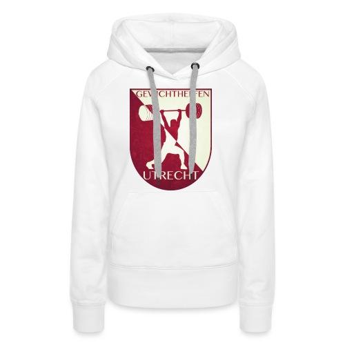 Oldschool Logo - Vrouwen Premium hoodie