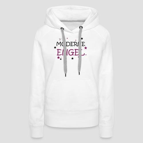 Moderne Engel - Frauen Premium Hoodie