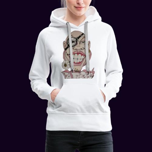 Pa Flippé - Sweat-shirt à capuche Premium pour femmes